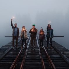 what a cool photo. so sad this bridge is closed down. such good photo ops there.