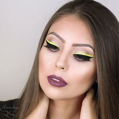 We're known for lips, but we also make dope eyeliners! 〰️ Loving this stacked look using 'Citreuse'  by @remakeup!