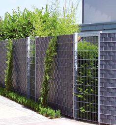28 Besten Zaun Bilder Auf Pinterest Corten Steel Gardens Und