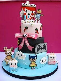 Tokidoki Cake!!! Love this. Only, needs Sandy.