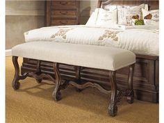 Shop for Fine Furniture Design and Mkt Bed Bench, 1121-500, and other Bedroom Benches at Boyles Furniture in Mocksville, NC. An adaptable build and attractive looks make this bench a must-have addition.  With a versatile design and fluid style, this bench makes a convenient inclusion.