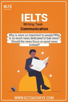 Communication: IELTS Direct Question Essay Model Answer Communication: IELTS Writing Task 2 Direct Question Essay Band 8 sample answer. The question is: News plays an important part in most people's lives. Why is news so important to people? Why is so much news dedicated to bad news? Should the news focus on good news instead? Take a look at the model answer. #SampleAnswer #IELTSEssay #IELTSModalAnswer #IELTSQuestion #SampleAnswer News Focus, Ielts Writing Task 2, Bad News, Plays, Communication, Band, Memes, People, Life