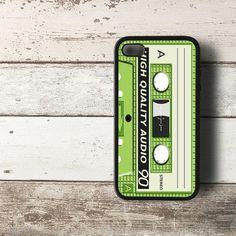 Retro Classic Vintage Cassette Tape iPhone 4 4s 5 5s 5c Case Cover Hard