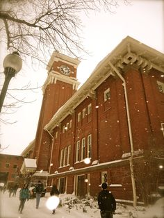 Bryan Hall Clock tower Washington State University Pullman, Washington...GO COUGS