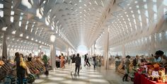 """Gallery of Six Flinders Street Station Proposals Battle It Out for """"Public Choice Award"""" - 14"""
