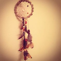 Dream catcher I made.