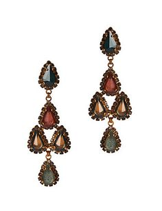 Erickson Beamon EXCLUSIVE Green Duchess Earrings