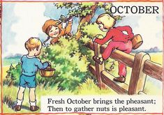 "October by Eulalie, ""The Garden Year"" from The Bumper Book."