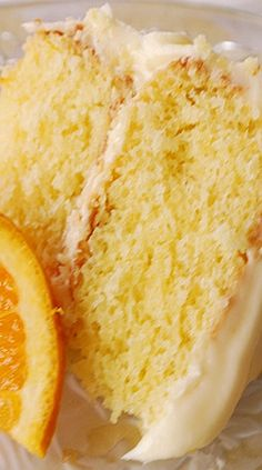 Fresh California orange Cake