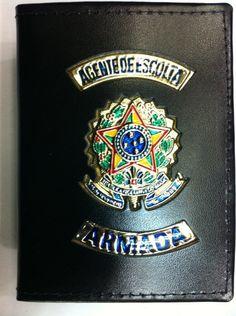 Agente de Escolta Armada wallet badge