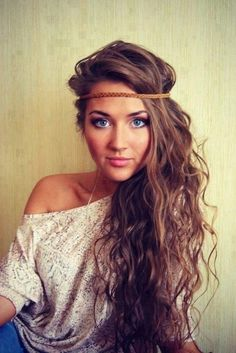 Headband Hairstyles For Long Hair