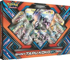 buy now   									£18.50 									  									SHINY TAPU KOKO BRINGS THE THUNDER!   Shiny Tapu Koko-GX blazes its Aero Trail and brings the power of thunder to your next battle! With the Shiny  ...Read More