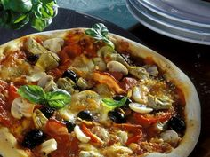 Rezept: Pizza Capricciosa
