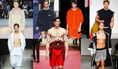 12. Men Trends Spring Summer 2015: The Boxer    It seems fitting that the year of the Brazil World Cup, when most of the world is glued to their tv screens to see who will lift the golden cup on the 13th July that the fashion set, always a step ahead, looks at boxing for inspiration. Football is so 2014.