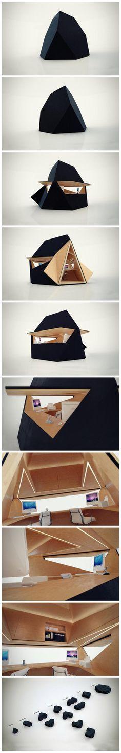 Tetra Shed(Концепция на пространството)Innovation Imperative