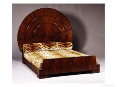 'Lit Soleil' Bed In Macassar Ebony, Ruhlmann, 1923