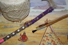 Native American Crafts and Activities: The Talking Stick and Answering Feather