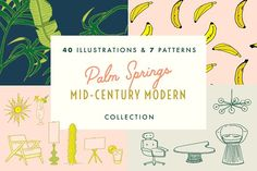 Palm Springs Mid-Century Mod Bundle by Jost Family Jewels on @creativemarket