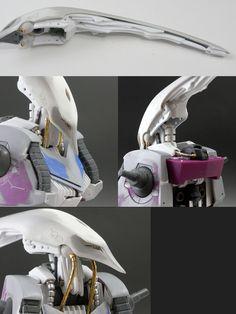 キュベレイ製作記 Gundam Tutorial, Robot, Gundam Custom Build, Gunpla Custom, Gundam Model, Mobile Suit, Action Figures, 3d Printing, Model Kits