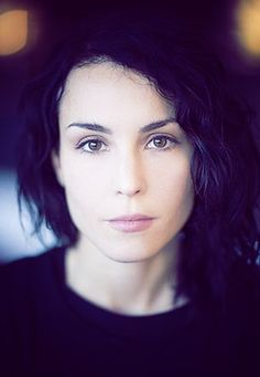 Noomi Rapace. The more I watch her, the more I love the structure of her face. Unconventionally beautiful