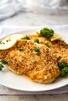Crunchy Chicken Schnitzel in just 12 minutes! An essential in my regular…