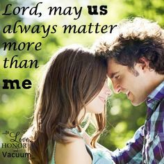 """Best love Sayings & Quotes QUOTATION – Image : Short love quote – Description May """"Us"""" Always Matter More than """"Me"""" in our #marriage – Sheila Wray Gregoire Sharing is Sexy – Don't forget to share this quote with those Who Matter !"""