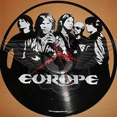 VINYL WALL CLOCK EUROPE