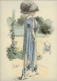 L'ART ET LA MODE - 1910-1912