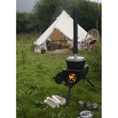 Frontier Camping Stove - a truly portable Wood burning Stove - Bushcraft Camping Stoves