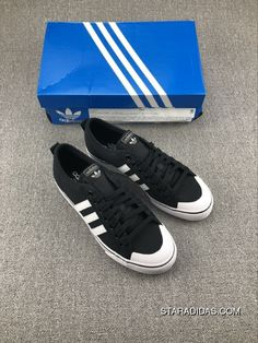772a6a45f623 Adidas Nizza Low CQ2332 Unixes Athletic Sneakers Casual Shoes Black Latest