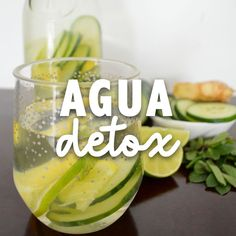 Agua detox – Amazing Cucumber Juice Benefits for Your Skin, Hair and Health Healthy Detox, Healthy Juices, Healthy Smoothies, Healthy Drinks, Smoothie Recipes, Healthy Life, Healthy Recipes, Cleanse Recipes, Detox Smoothies