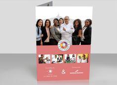 « Des Étoiles & des Femmes » est une initiative de La Table de Cana sur une idée originale du chef Alain Ducasse parrain du programme. Création de plaquette. Movie Posters, Movies, Booklet, Woman, Film Poster, Films, Movie, Film, Movie Theater
