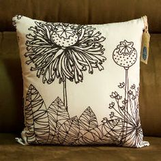 #pillow #flower #pattern PAPOULA