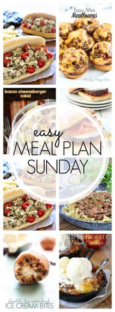 Week 57 meal plan