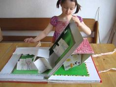 If I had a garden -- pop up book made with children who imagined what kind of garden they would make.