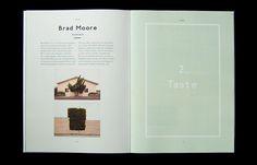 Tabula Rasa Magazine Issue 2 by Luke Fenech, via Behance
