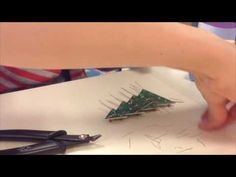 LIBRARY AS MAKERSPACE: Adventures in Soldering: Holiday Tree Project Velleman MK100 Holiday Tree, Christmas Tree, Soldering, Projects, Teal Christmas Tree, Log Projects, Blue Prints, Brazing, Xmas Trees