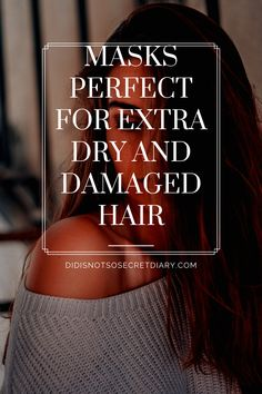 Masks Perfect For Extra Dry And Damaged Hair, Due to time, hair coloring, blow-drying, and ironing, our hair loses that beauty. It's getting more and more damaged and...find out more... #hair#damaged#dry