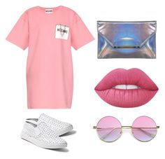 """""""Untitled #69"""" by onlyyc on Polyvore featuring Moschino, Steve Madden, Lime Crime and Miss Selfridge"""