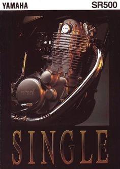 Yamaha SR 500 engine Custom Bobber, Custom Motorcycles, Cars And Motorcycles, Yamaha Bikes, Yamaha Motor, Motorcycle Store, Retro Bikes, Twisted Metal, Rat Rods