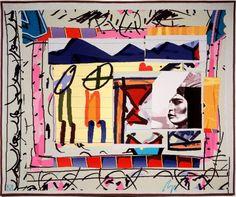 Gordon Crook   'Festival' (1991)   Australian Tapestry Workshop   Weavers: Cheryl Thornton, Joy Smith