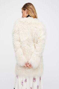 Slide View 3: Lamy Faux Fur Coat