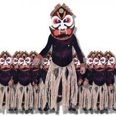 Disfraz Zulu Africano
