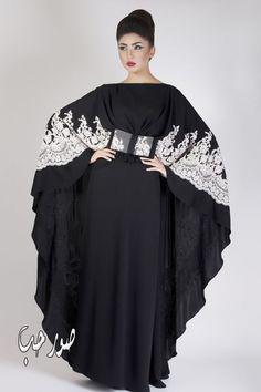 Telly SS Abaya Sassy, classy, and speaks Boss. Islamic Fashion, Muslim Fashion, White Fashion, Unique Fashion, Abaya Fashion, Fashion Dresses, Modest Dresses, Nice Dresses, Hijab Abaya