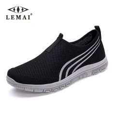 Cheap shoes childrens, Buy Quality shoe tag directly from China shoes return Suppliers: LEMAI 2017 Unisex Lover Shoes Summer Casual Men Shoe Breathable Network Shoes man Slip On Flats For Man Loafers 35-46