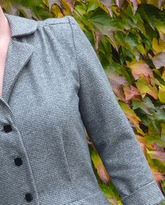 Springy Stitches - Ready For Autumn: a gorgeous woollen Vintage Shirt Dress from Sew Over It