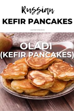 Cottage Cheese Pancakes, Pancakes And Waffles, Clean Breakfast, Breakfast On The Go, Ukrainian Recipes, Russian Recipes, Oladi Recipe, Easy Homemade Pancakes, Vegetarian Breakfast Recipes