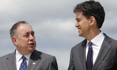 ALEX Salmond has told Ed Miliband to 'button it' after the Labour leader tried to expose his epic scam.