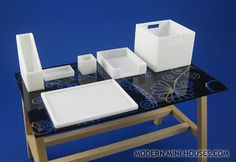 Modern Mini Houses | Archiving Modern Dollhouses and modern miniatures.