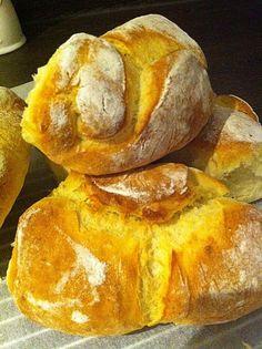 Chefkoch.de Rezept: Kartoffelbrötchen mit genialer Kruste